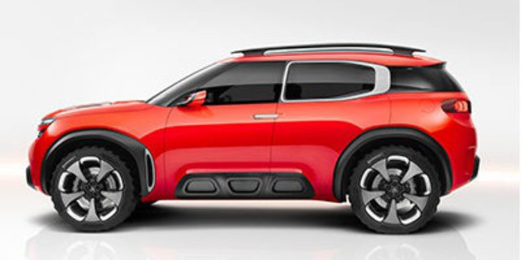 Citroën pisa fuerte con su Aircross Concept
