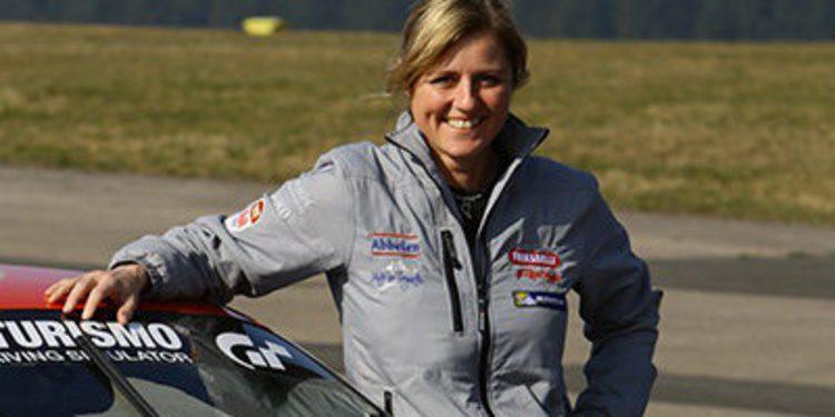 Sabine Schmitz en Nurburgring con Münnich Motorsport