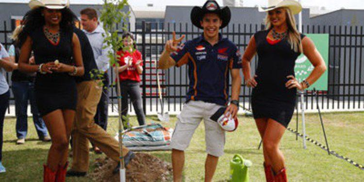 Marc Márquez es el sheriff del GP de las Américas