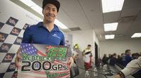 Nicky Hayden celebra su GP número 200 en Austin