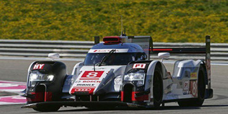 Audi comienza mandando en los libres 1 del WEC