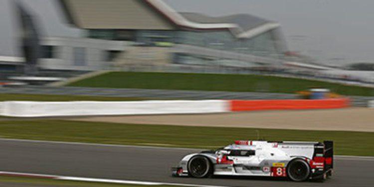 Doblete de Audi en el segundo libre de Silverstone