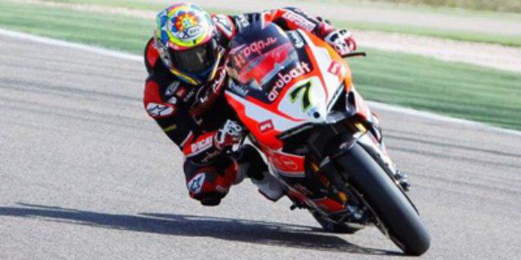 Chaz Davies encabeza el paso a la Superpole en Aragón