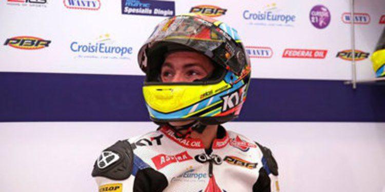Xavier Simeón consigue la pole de Moto2 por sorpresa