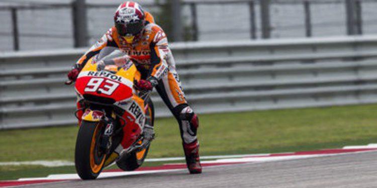 Marc Márquez consigue su tercer triunfo en el GP de las Américas