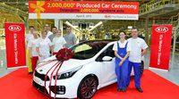Kia Europa fabrica su unidad 2.000.000