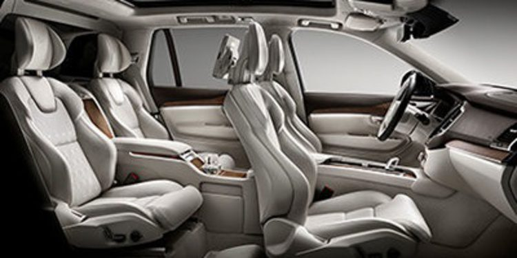 Volvo lleva a Shanghai el XC90 Excellence