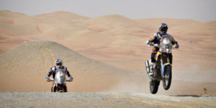 Inscritos en motos y quads en el Sealine Cross Country Rally