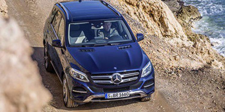 El Mercedes-Benz GLE aterriza en España en septiembre