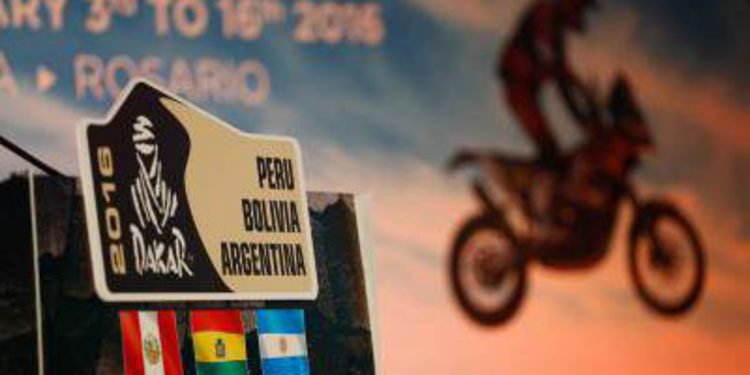 Presentación Dakar 2016