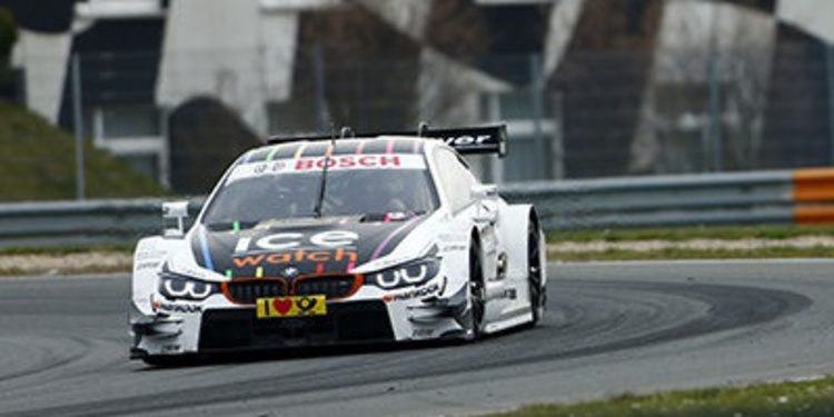 BMW el más rápido de los test en Oschersleben