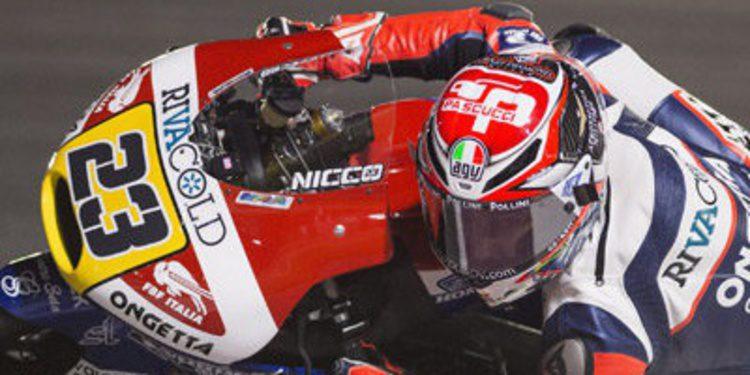 Niccolò Antonelli arranca al frente de Moto3 en Termas