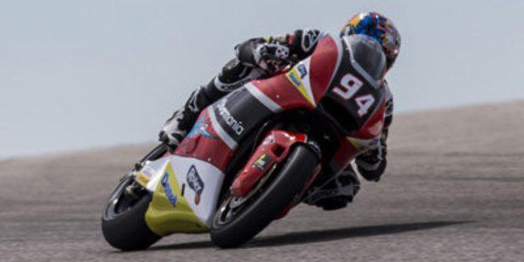 Jonas Folger domina el FP1 de Argentina en Moto2