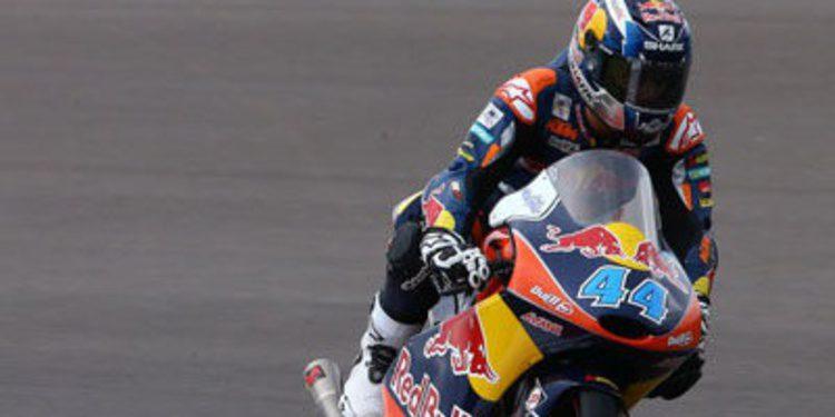 Miguel Oliveira consigue la pole de Moto3 en Termas