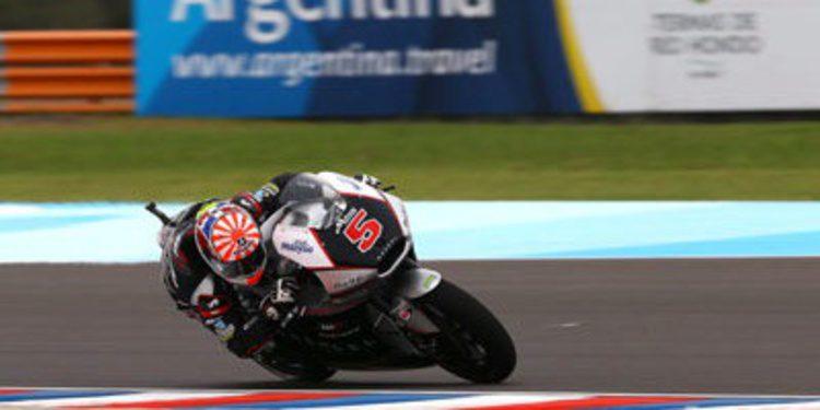 Ritmo y pole de Moto2 para Johann Zarco en Argentina