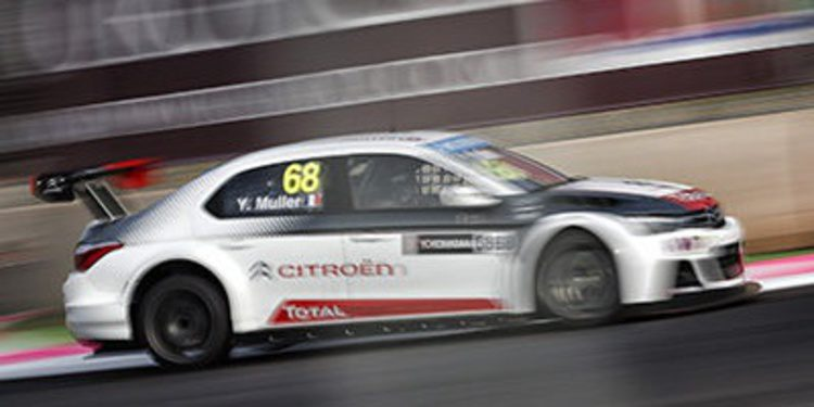 Yvan Muller gana una accidentada carrera en Marrakech
