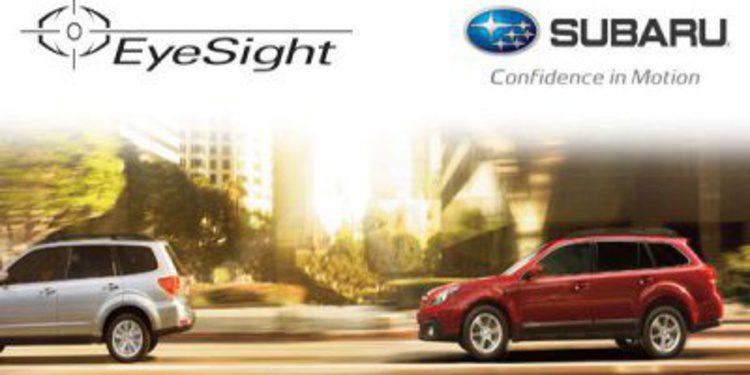300.000 unidades del EyeSight de Subaru