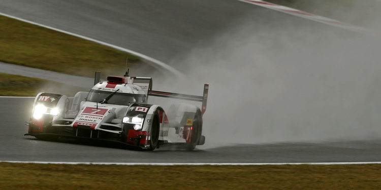 Audi marca el mejor tiempo del FP3 en el WEC