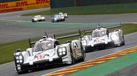 Porsche logra la pole y el triplete del WEC en Spa