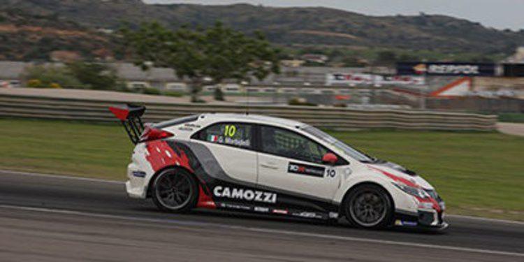 Morbidelli el más rápido de los test del TCR en Valencia