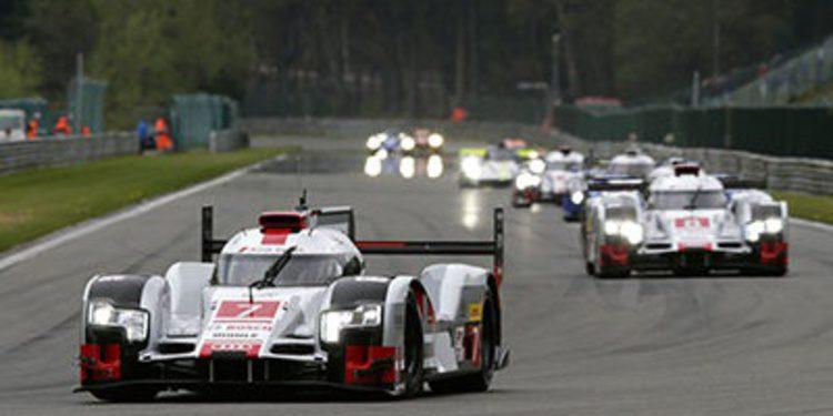 Audi gana la batalla en las Ardenas por delante de Porsche