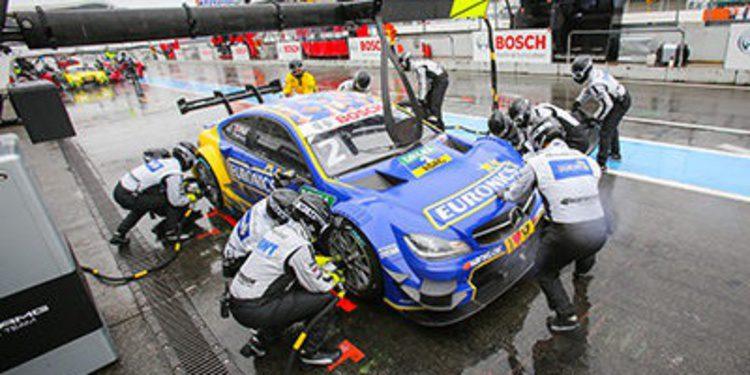 Mercedes monopoliza el warmup en Hockenheim