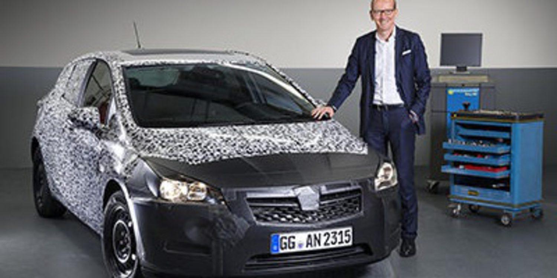 La nueva generación del Opel Astra se presentará en Frankfurt