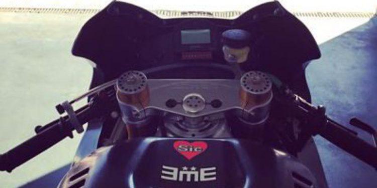 Mattia Pasini vuelve a subirse a una Moto2