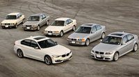 4 décadas de la Serie 3 de BMW