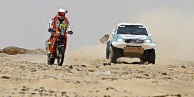 Al-Balooshi y Al-Rajhi ganan la etapa 1 del Pharaons Rally