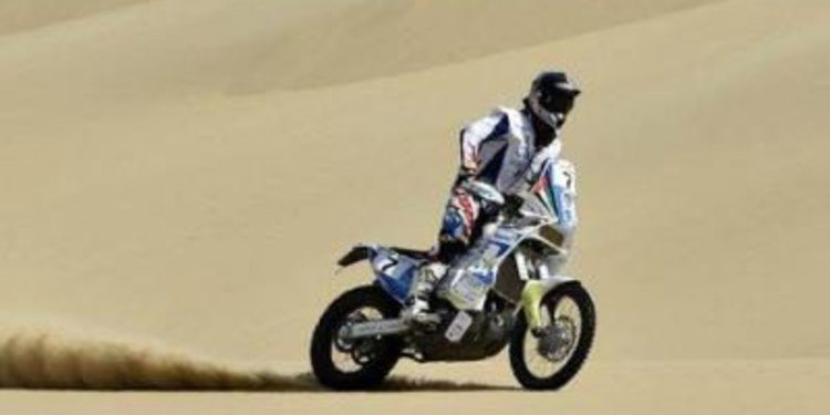 Al-Balooshi y Vasilyev ganan la etapa 2 del Pharaons Rally
