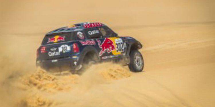 Salvatierra y Al-Attiyah ganan la etapa 4 del Pharaons Rally