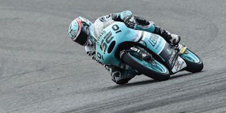 Kent al mando en Le Mans en los libres del viernes de Moto3