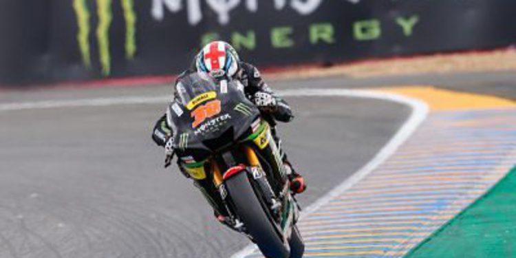 Smith sorprende en Le Mans y lidera los libres en MotoGP