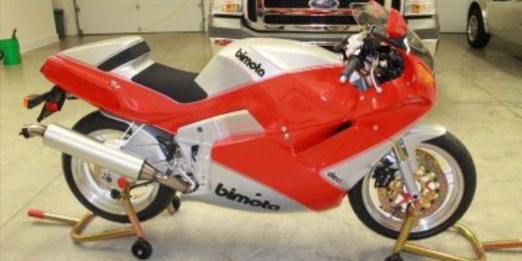 Aparece Bimota YB10 de 1991 a estrenar en eBay