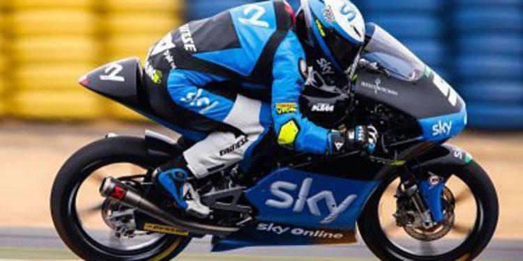Romano Fenati vence en Moto3 en Le Mans
