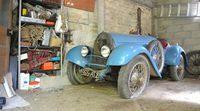 Encuentran un Bugatti Type 13 olvidado en un granero