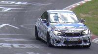 BMW M2 cazado en pruebas en Nürburgring