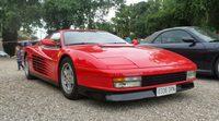 En el asfalto: gran ejemplar del Ferrari Testarossa (1984-1992)
