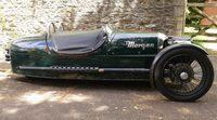 El clásico británico revive en el Morgan Three Wheeler