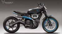 Renders de la Ducati Scrambler de Gannet Design