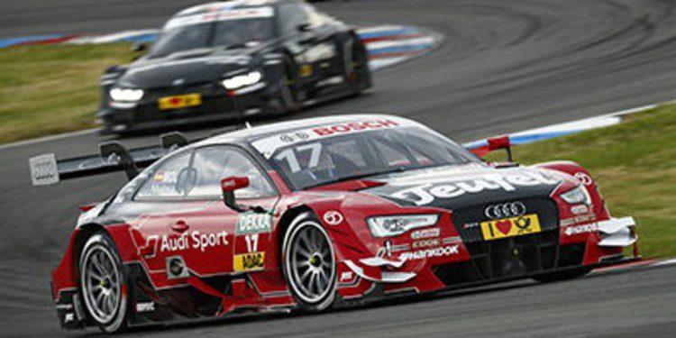 Pole para Audi y Miguel Molina el sábado en Lausitzring