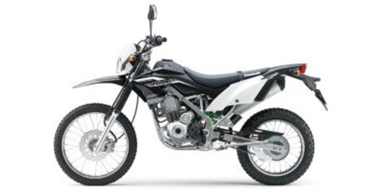 Filtradas las primeras imágenes de la nueva gama Kawasaki KLX 150