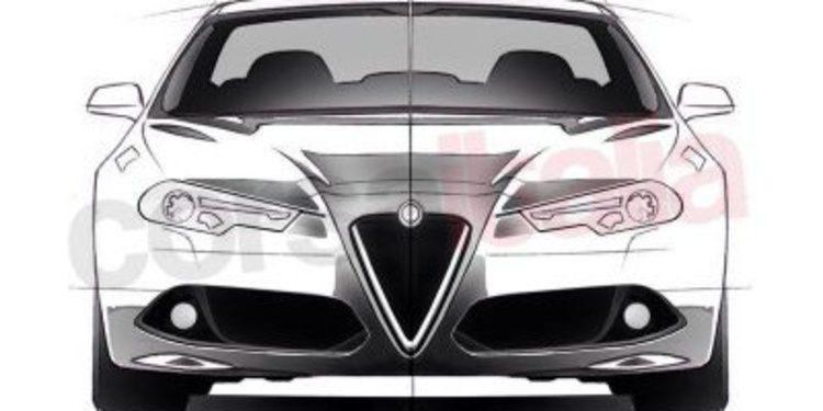 Bocetos no oficiales del próximo Alfa Romeo Giulia
