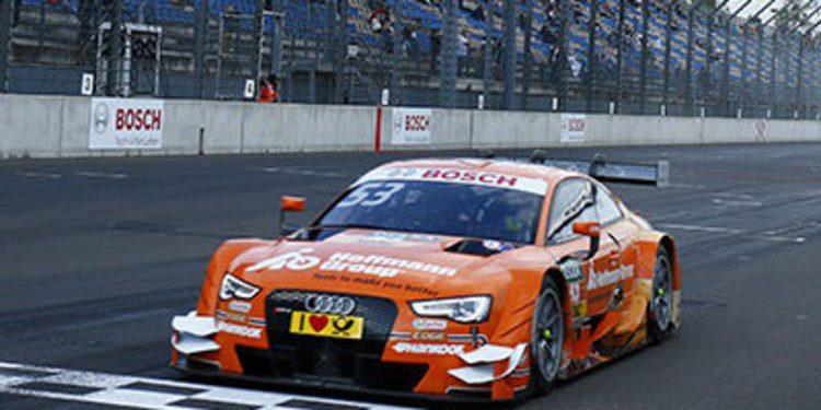 Jamie Green también manda en el warmup del DTM en Lausitzring