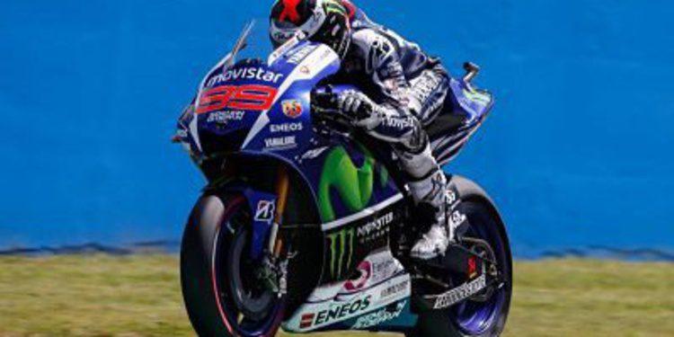 Victoria de Jorge Lorenzo en el GP de Italia