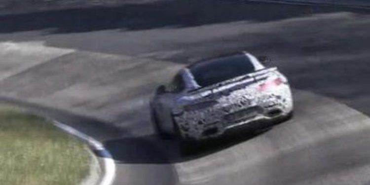 Todos los vídeos del prototipo del Mercedes AMG GT Black Series
