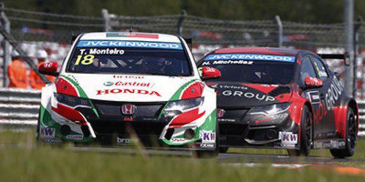 Tiago Monteiro consigue la primera victoria para Castrol Honda