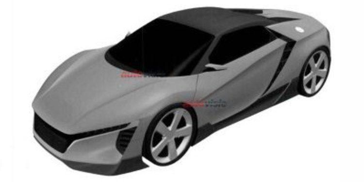 Filtrado nuevo Honda deportivo de motor central