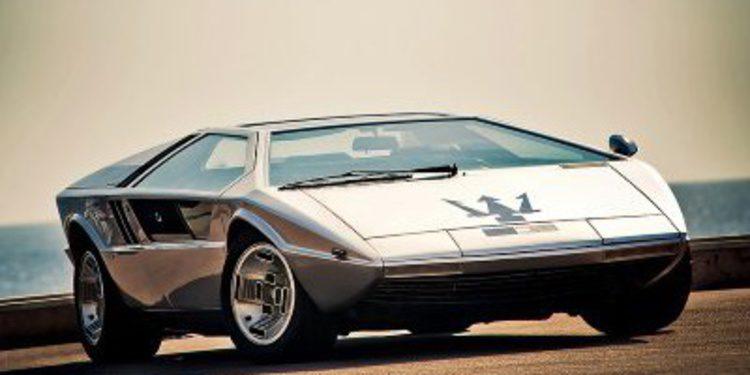 El único prototipo Maserati Boomerang de Bertone a subasta
